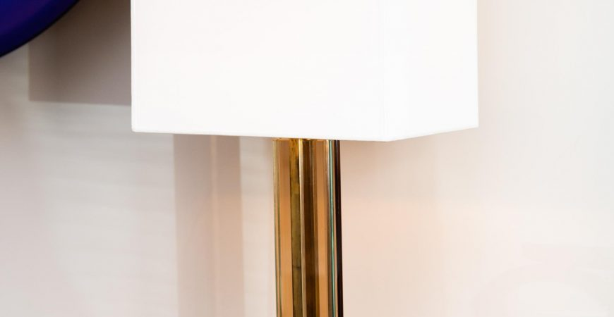 Pair of Fontana Arte Table Lamps